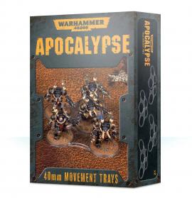 WARHAMMER 40000 - APOCALYPSE MOVEMENT TRAYS (40MM)