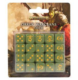 AGE OF SIGMAR: ORRUK WARCLANS DICE