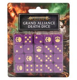 AGE OF SIGMAR: GRAND ALLIANCE DEATH DICE SET