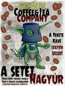 """Kézműves Kávé """"A Setét Nagyúr"""" – Karos Géphez Őrölt Kávé"""