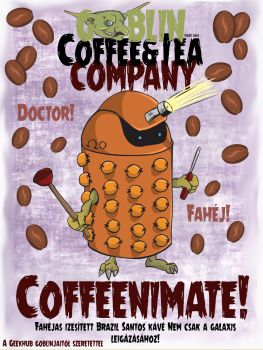 "Fahéjas Kávé ""Coffeeminate"" – Fahéjas Kávé Karos Géphez Őrölt"