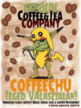 """Kávé """"Coffeechu"""" – Szemes Narancsos – Csokis Kávé"""