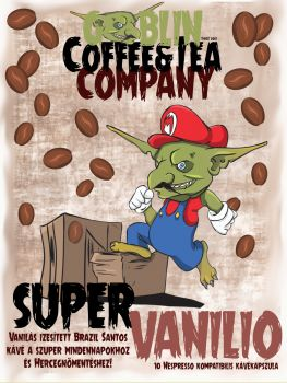 """Vaníliás Kávé """"Super Vanilio"""" – Vaníliás Kávé Karos Géphez Őrölt"""