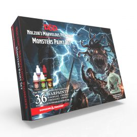 The Monsters Paint Set